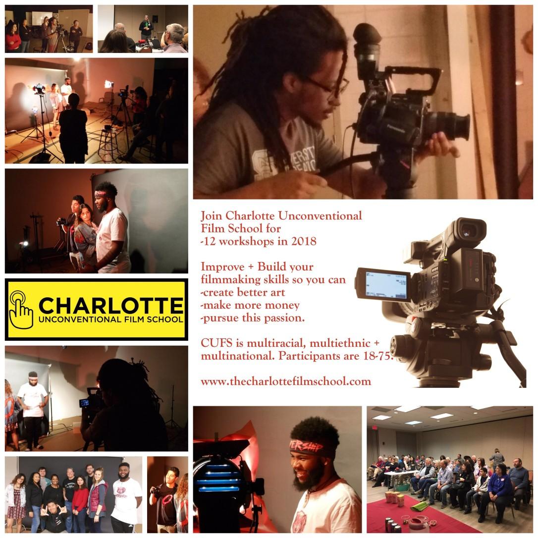 Charlotte Film School Ad